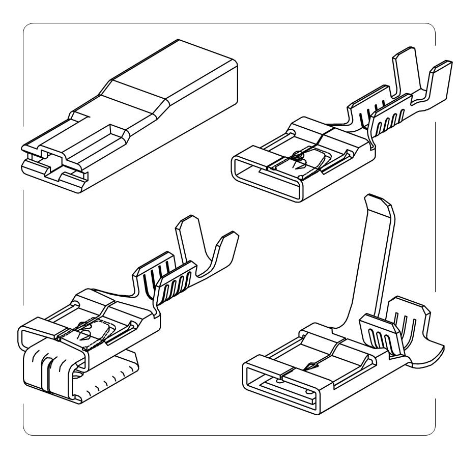 Nowość w ADMars końcówki konektorowe  typu TLIF